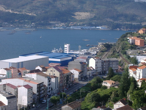 Avenida de Vigo en Chapela
