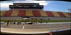 Panorama of the @progautoxp cars preparing to start the City Efficiency Test Event #PIAXP