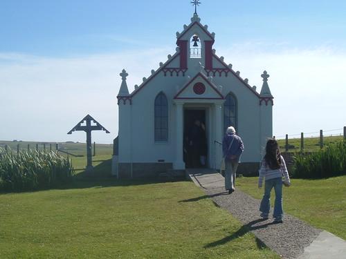Italian Chapel (outside)