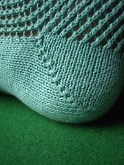 Toe socks - heel detail