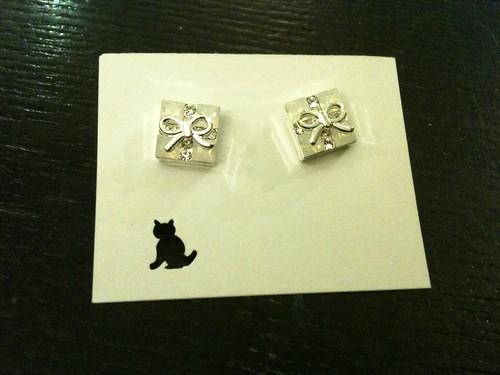 Earrings Silver Giftbox