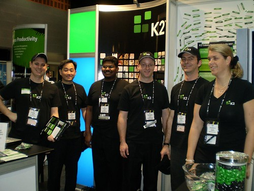 K2 booth @ TechEd