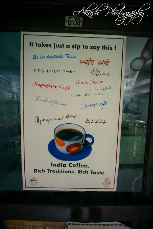 Indian Coffee House   Church Street,Bangalore