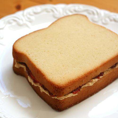PBJ cakewich