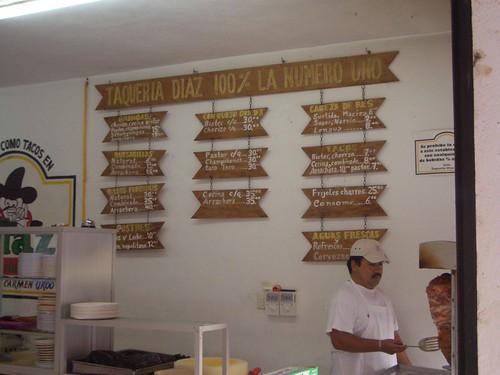 Taqueria Diaz - Playa del Carmen