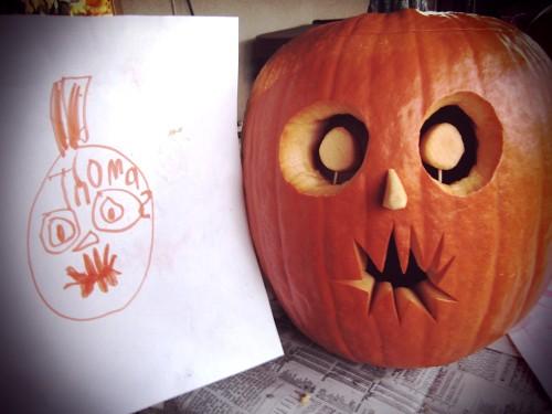 thomas' pumpkin