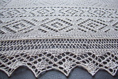 SD shawl - edging