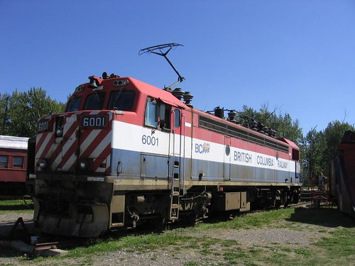 BC Rail Electric Loco