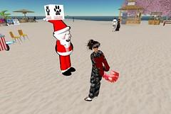 Santa on Japan Resort