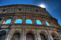 Rome Colosseum -- HDR Photography