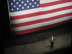 Barack Obama on Broadway