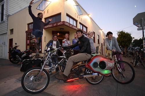 Choprical Fish Party Bike