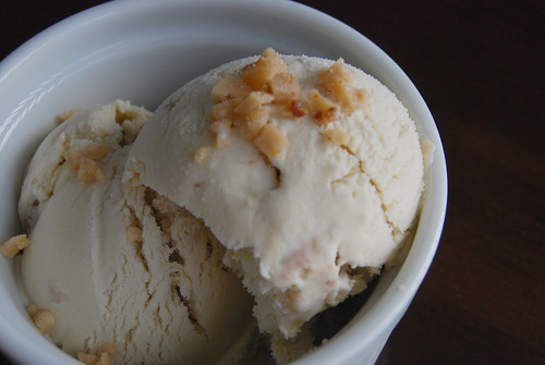 Butter brickle ice cream