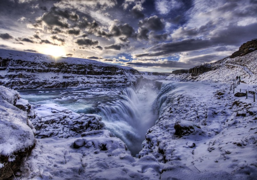 The Waterfall Crevice