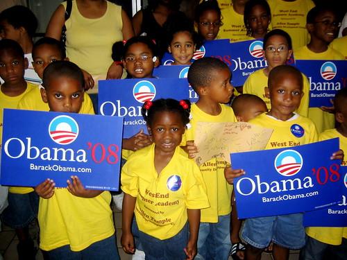 81 % des électeurs noirs ont voté pour Barak Obama en Caroline du Sud