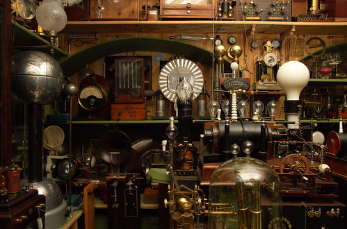 Victorian science laboratory