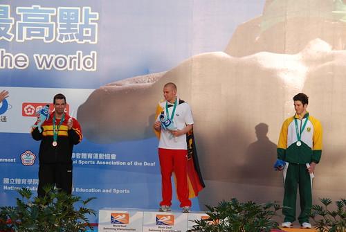2007聽障游泳錦標賽-頒獎