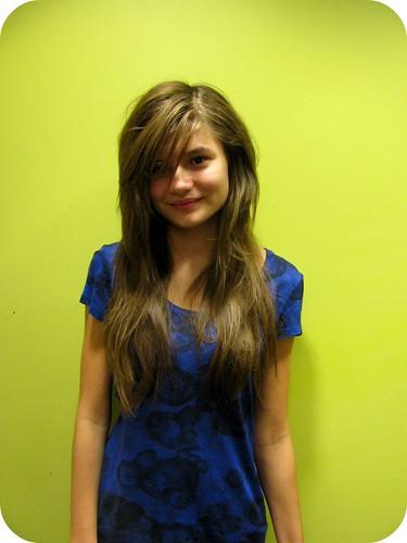 ZOE's NEW HAIR CUT 2010