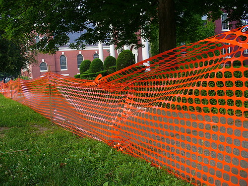 Construction webbing