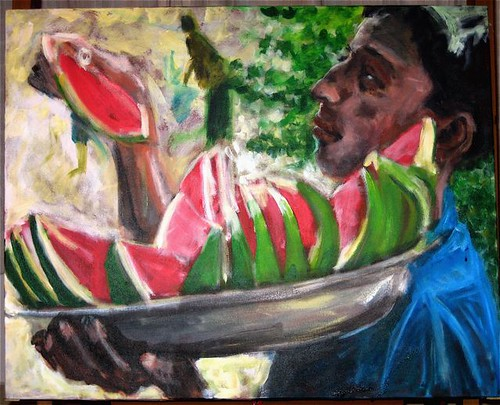 Watermelon Seller wip