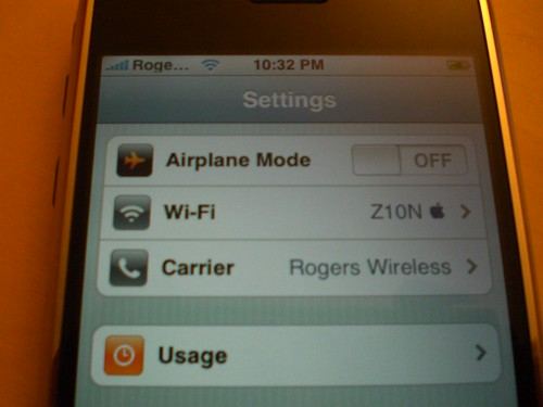 iPhone on Rogers