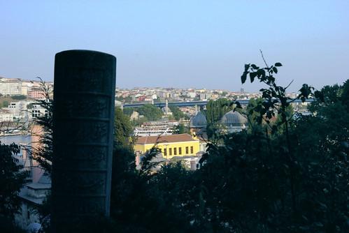 gravestones in Eyup Sultan cementeries, istanbul eyüp, golden horn, haliç, pentax k10d