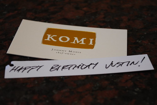Komi - Happy Birthday