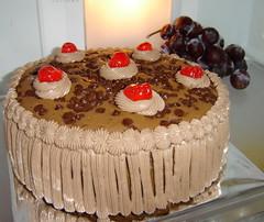 Cake Coklat Ganda