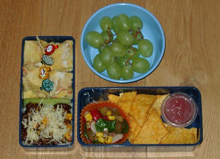 Mexican dream bento