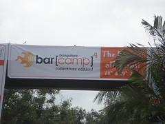 poster at IIMB gate
