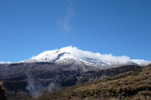 Nevado del Ruiz on a clear day (unlike the day I went, sadly)