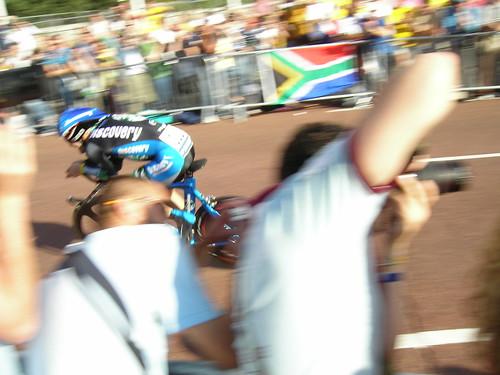 very fast rider