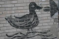 Li Qun Duck Graffiti