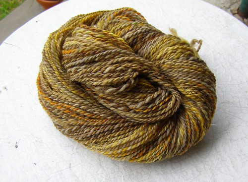 belle sweater handspun