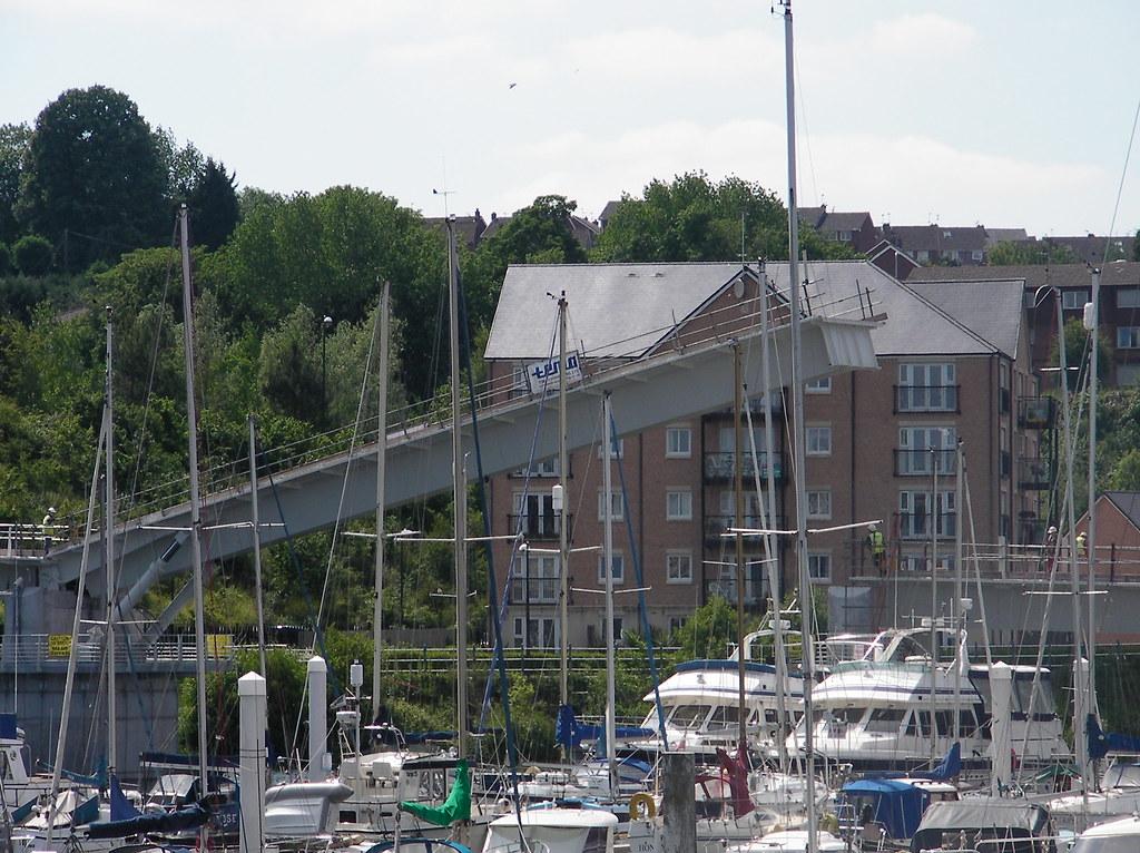 Pont y Werin bridge open