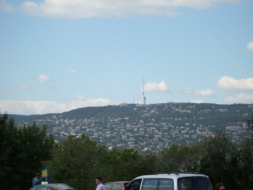 That spike, seen from Gellert Hill