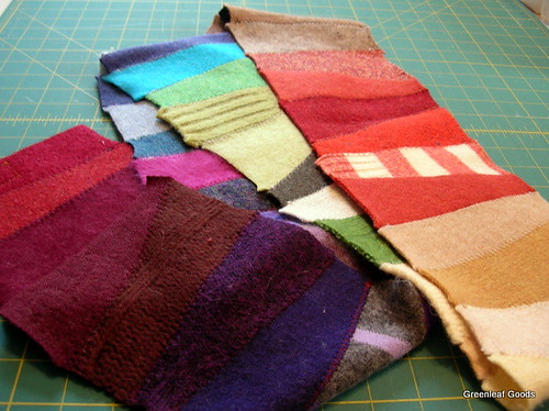 Prism short-row scarf