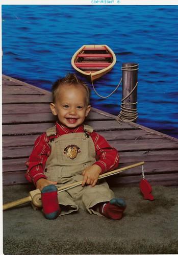 Grandpa's Little Fishing Buddy