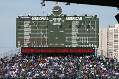 Chicago Cubs Schedule 2009