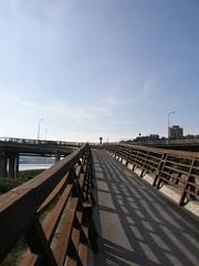 34.上關渡大橋的自行車道