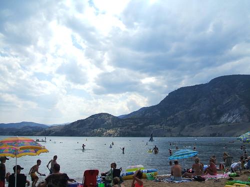 Skaha Lake....