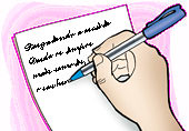 Escrevendo...