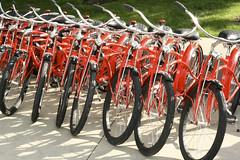 Red Vancity Bikes