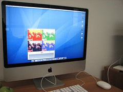 iMac rodando o PhotoBooth