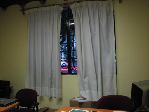 La ventana de la oficina