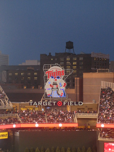 Target Field - Twins Vs. Indians