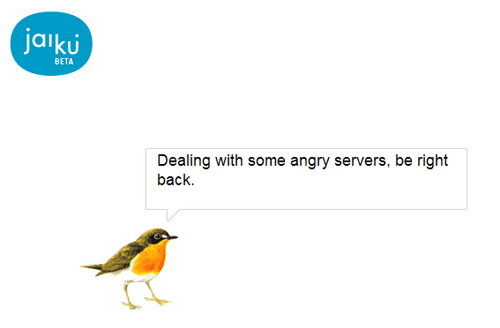 jaiku - server down