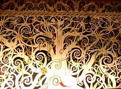"""原住民""""山達雅""""的彩繪:生命之樹"""