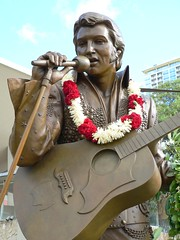 Elvis Statue, Hawaii