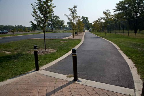 The Bike Path that now runs along River des Peres in southwest city. Thanks go to fotobydave on Flickr.